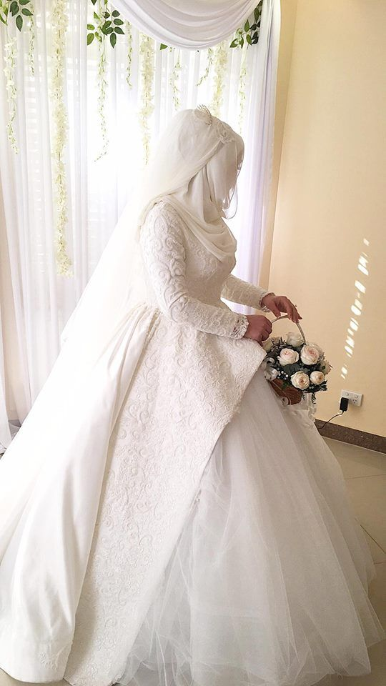 Other beautiful bride | Muslim Bridal Hijab(Niqab)~Bridesmaids ...