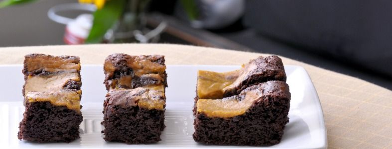 Gluten Free Pumpkin Brownie Recipe - Gluten free recipes - gfJules - with the REAL Jules