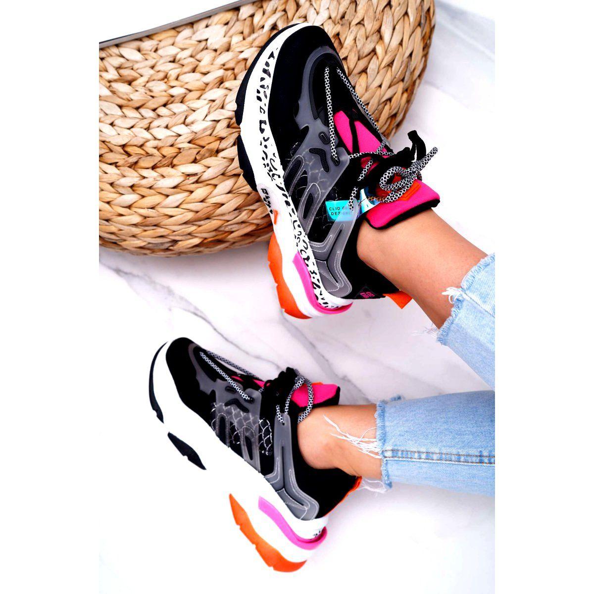 Sea Sportowe Damskie Buty Czarne Focus Sneakers Nike Air Max Sneakers Saucony Sneaker