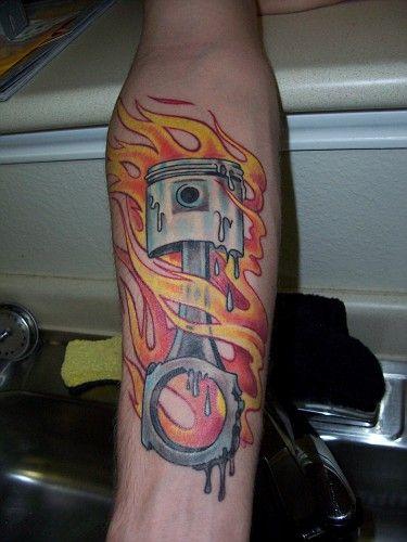 Category Tattoo Jul 25 Piston And Pinstriping Piston