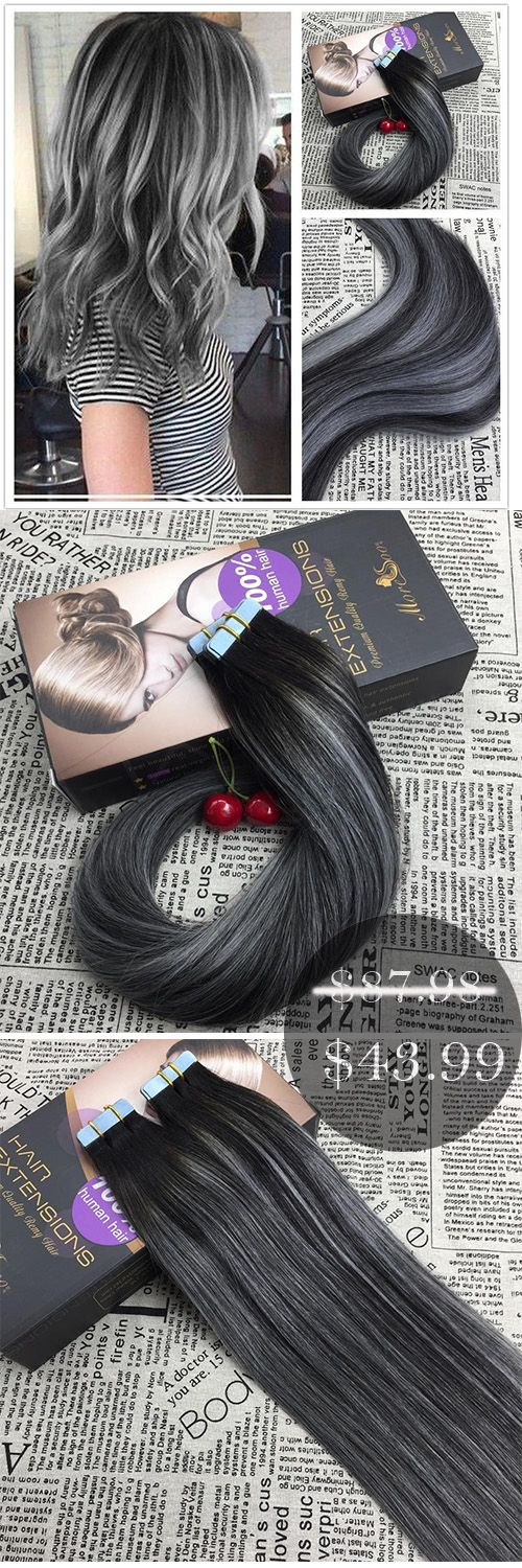 Want To Get A New Look Try Moresoo Tape In Hair Extensions 50g