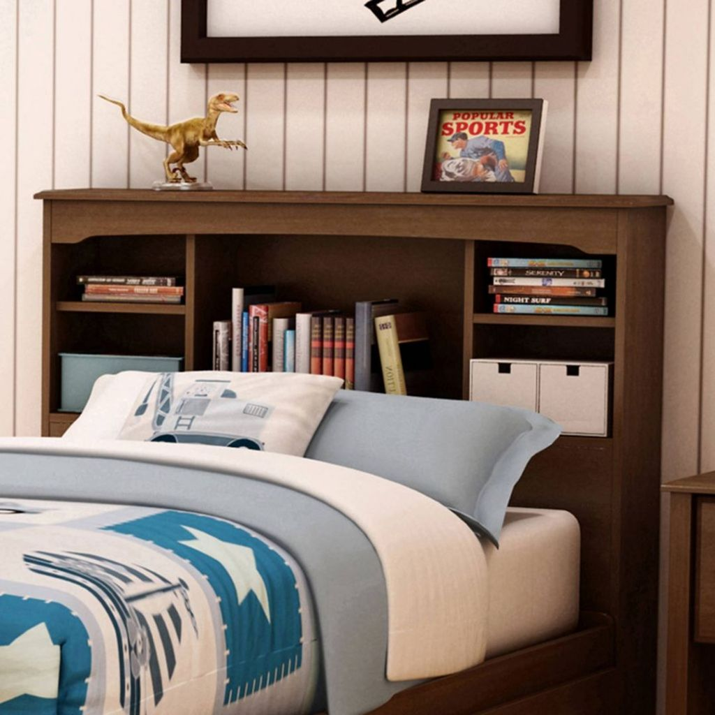 9 Most Creative Bookcase Headboard Design For Your Bedroom 2 In 2020 Bookcase Headboard Headboard Designs Bookcase