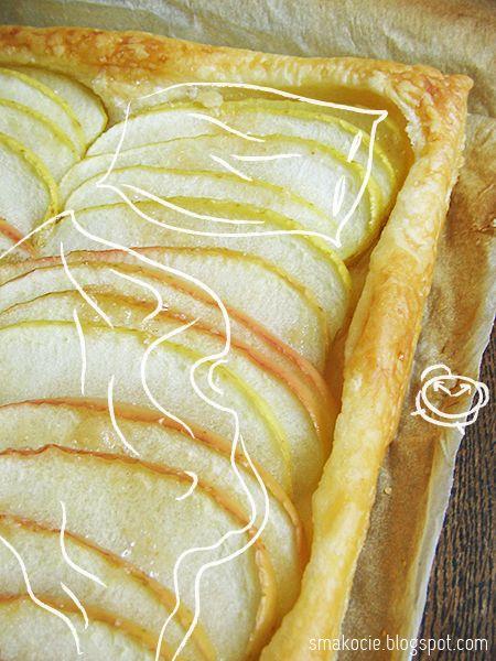Apple Tart Scroll Down For English Tarte Fine Aux Pommes Czyli