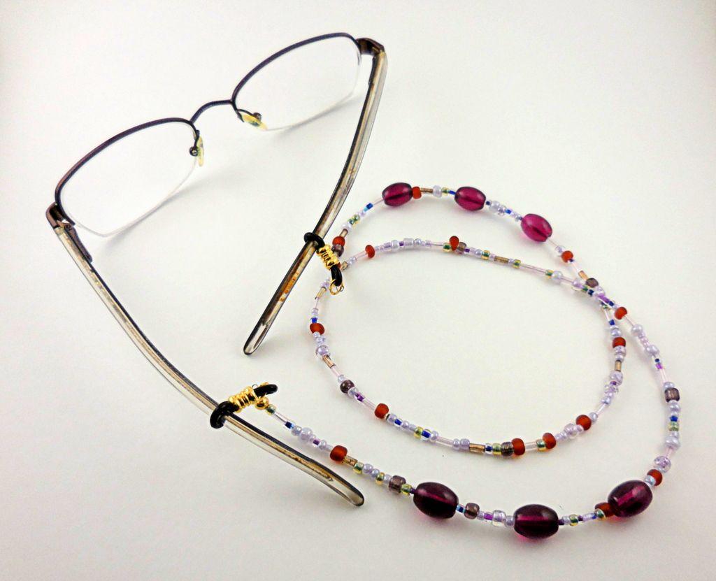 How to make eyeglass chains diy glasses