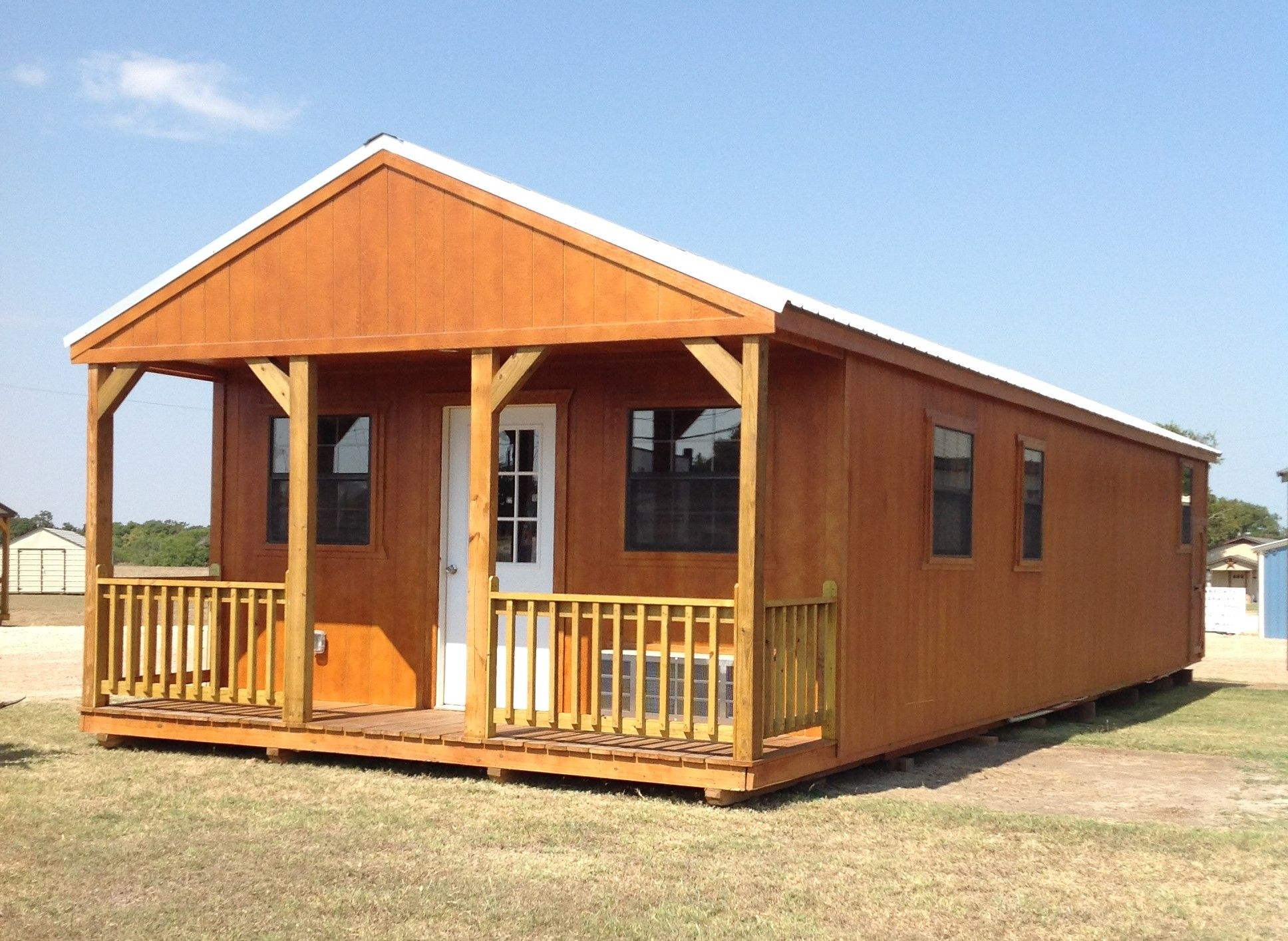16 X 50 Two Bedroom Cabin 800 Sq Ft Includes All Appliances And You Can Customize All Finishes Shed To Tiny House Portable Buildings Portable Carport