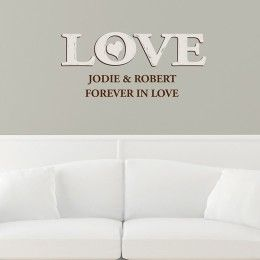 Love Personalised Wall Art - £24.95.