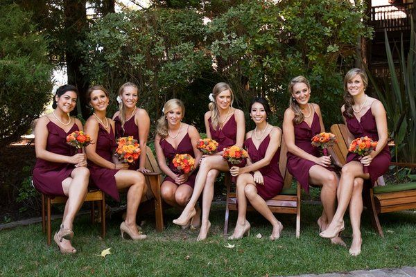 Fall Bridal Party Dresses