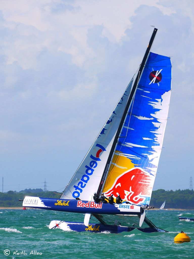 Red Bull Extreme sailing team