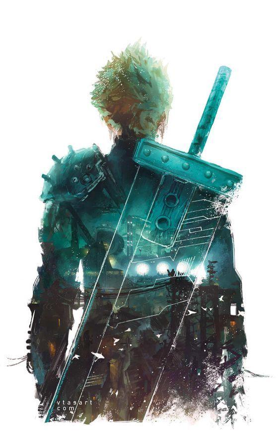 Ffvii The Beginning By Vtas On Deviantart On Final Fantasy Vii
