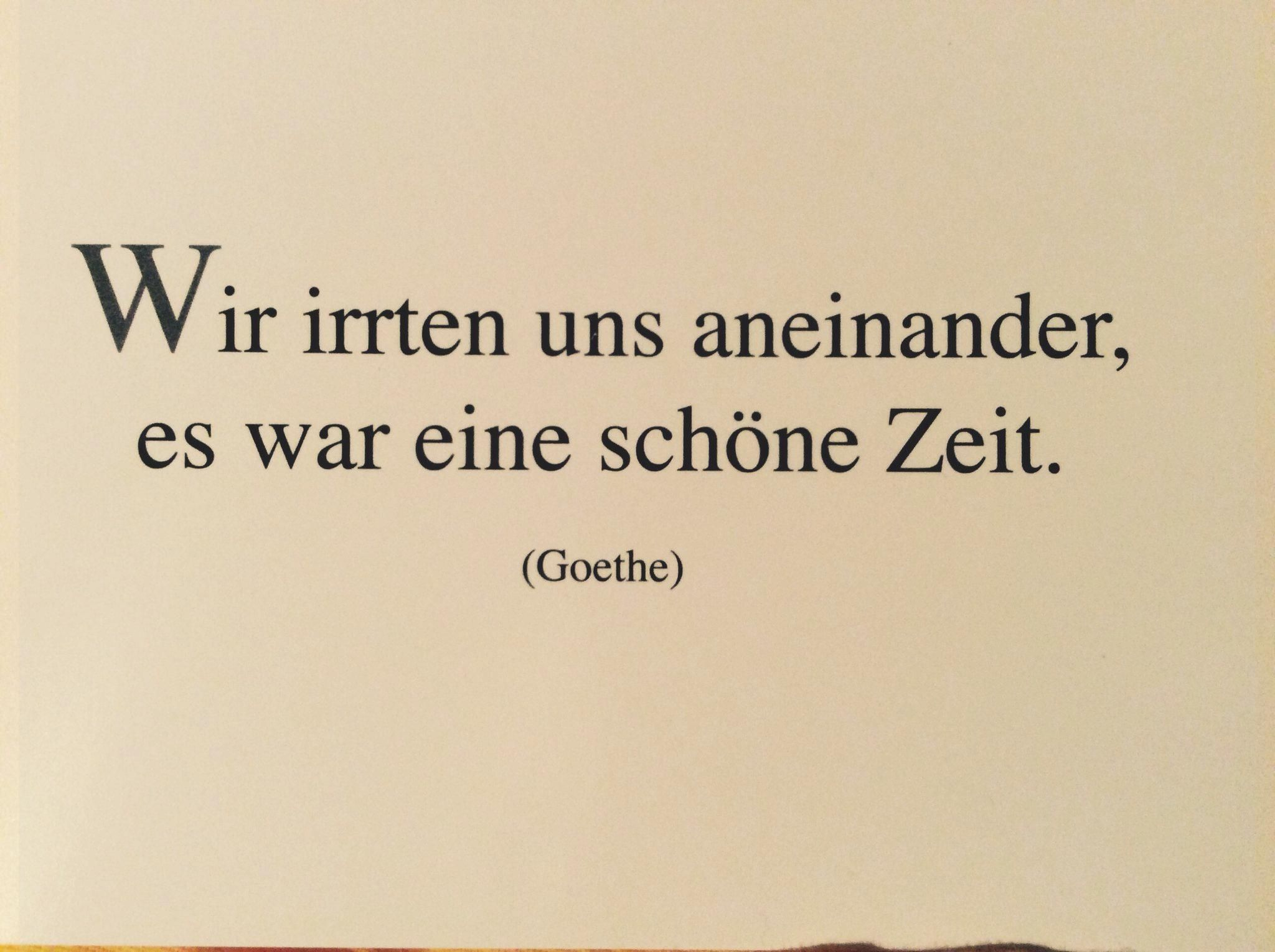 #aneinander #fitness #Goethe #irrten #Postkarte #schöner #Spruch #uns #Wien #wir Wir irrten uns anei...