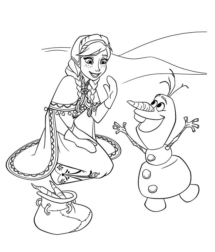 Disegni Di Olaf Frozen Frozen Coloring Pages Frozen Coloring