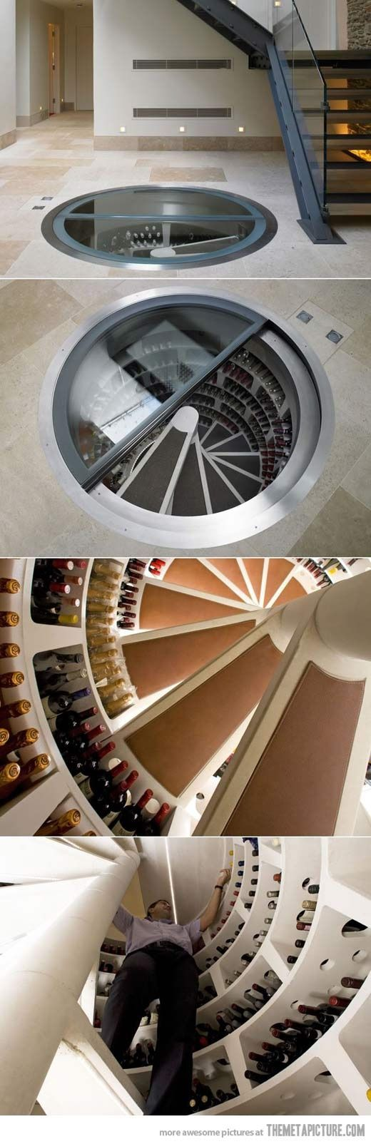 Not for a wine cellar...just a basement house maybe <3