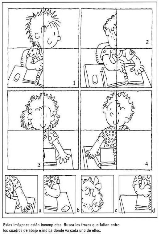 Hola Compañer S Como Están Les Dejo Algunas Fichas Divertidadas De Razonamiento Logico Para Alguna Activi Fichas Actividades Escolares Actividades Cognitivas