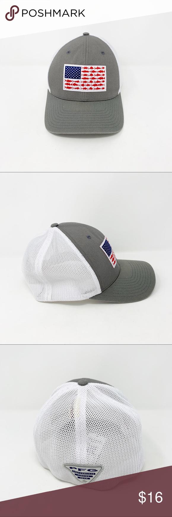 Columbia Pfg Mesh Fishing Hat Size L Xl Hat Sizes Fishing Hat Columbia Pfg