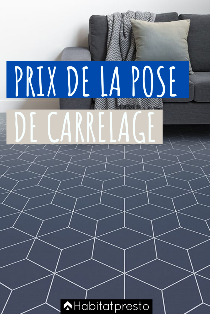 Prix Pose Carrelage Tarifs Au M2 Exemple De Devis Carreleur En 2020 Poser Du Carrelage Carrelage Carrelage Noir Et Blanc