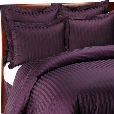 Wamsutta 500 Damask Purple Duvet Cover Set 100 Cotton Thread Count Bedbathandbeyond