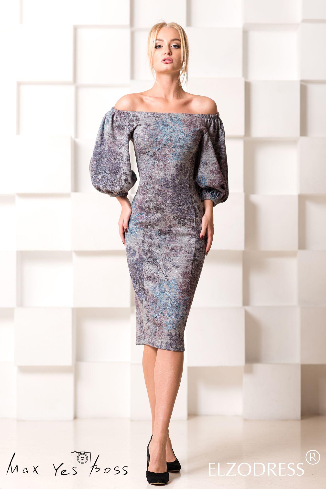 Платье футляр в миди длине в магазине «August van der Walz» на  Ламбада-маркете fe1b2b51b6d