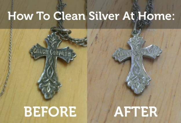 How To Clean Silver At Home Diy Tutorial By Pioneer Settler Http