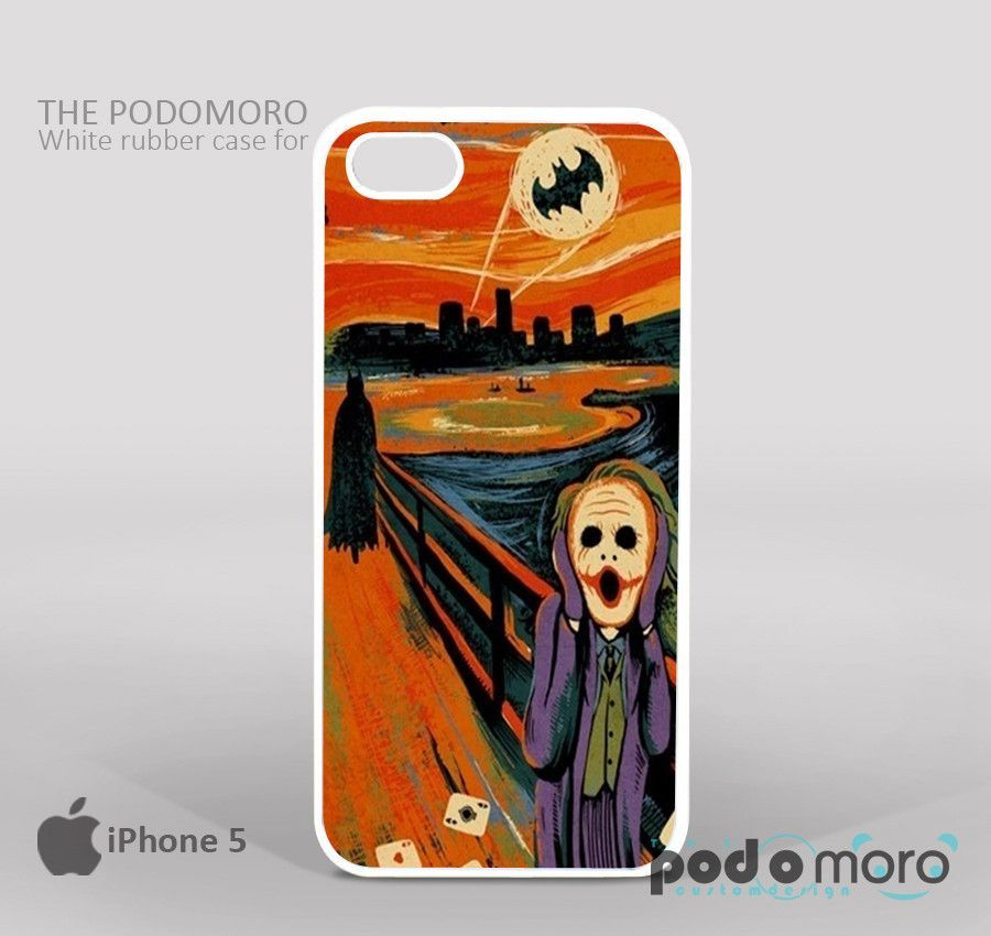 Starry Night Batman Joker for iPhone 4/4S, iPhone 5/5S, iPhone 5c, iPhone 6, iPhone 6 Plus, iPod 4, iPod 5, Samsung Galaxy S3, Galaxy S4, Galaxy S5, Galaxy S6, Samsung Galaxy Note 3, Galaxy Note 4, Phone Case