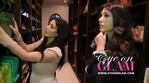 Kim Kardashian Closet. ilikeclosets.com | Closet tour, Kim ...