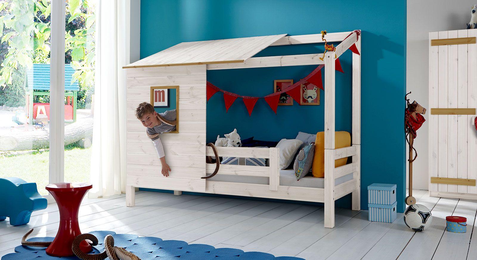 Haus Bett Etagenbett : Kinderzimmer die schönsten hausbetten für kinder