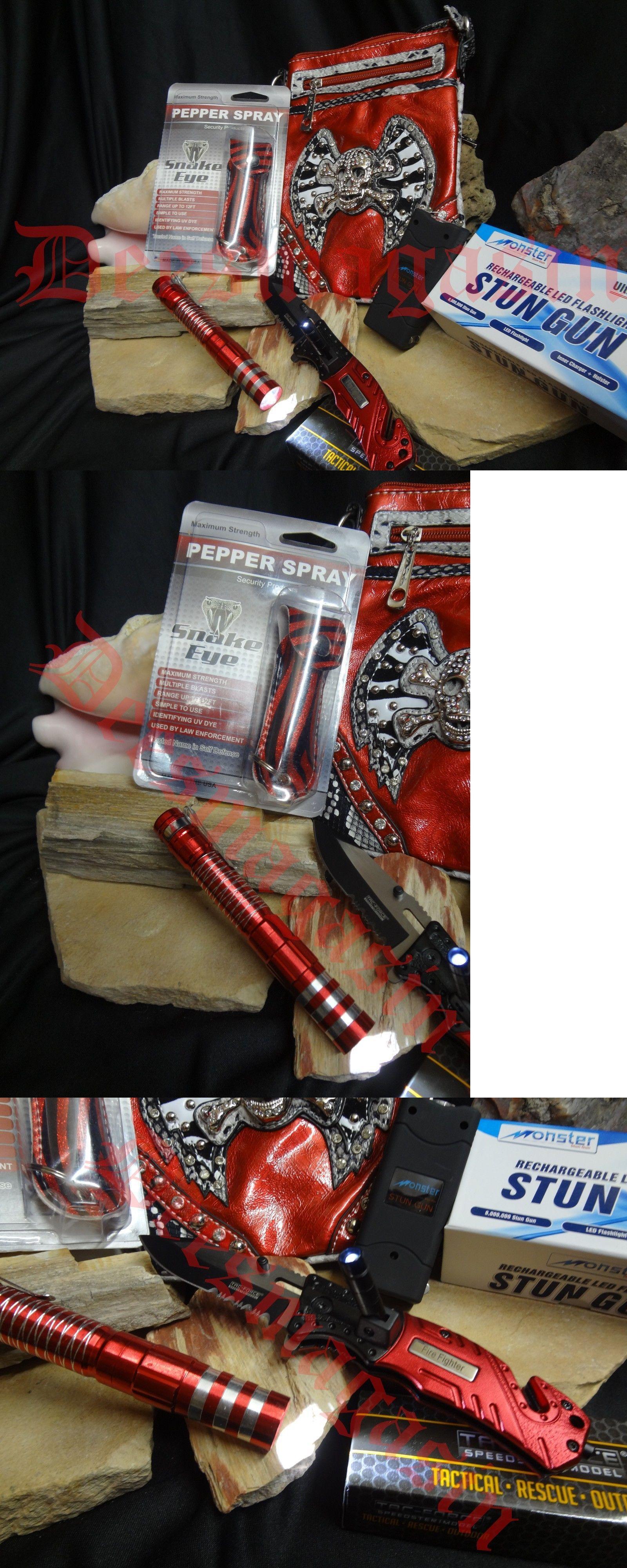 Mixed items and lots 169303 red skull self defense bag stun gun mixed items and lots 169303 red skull self defense bag stun gun pepper spray pocket voltagebd Gallery