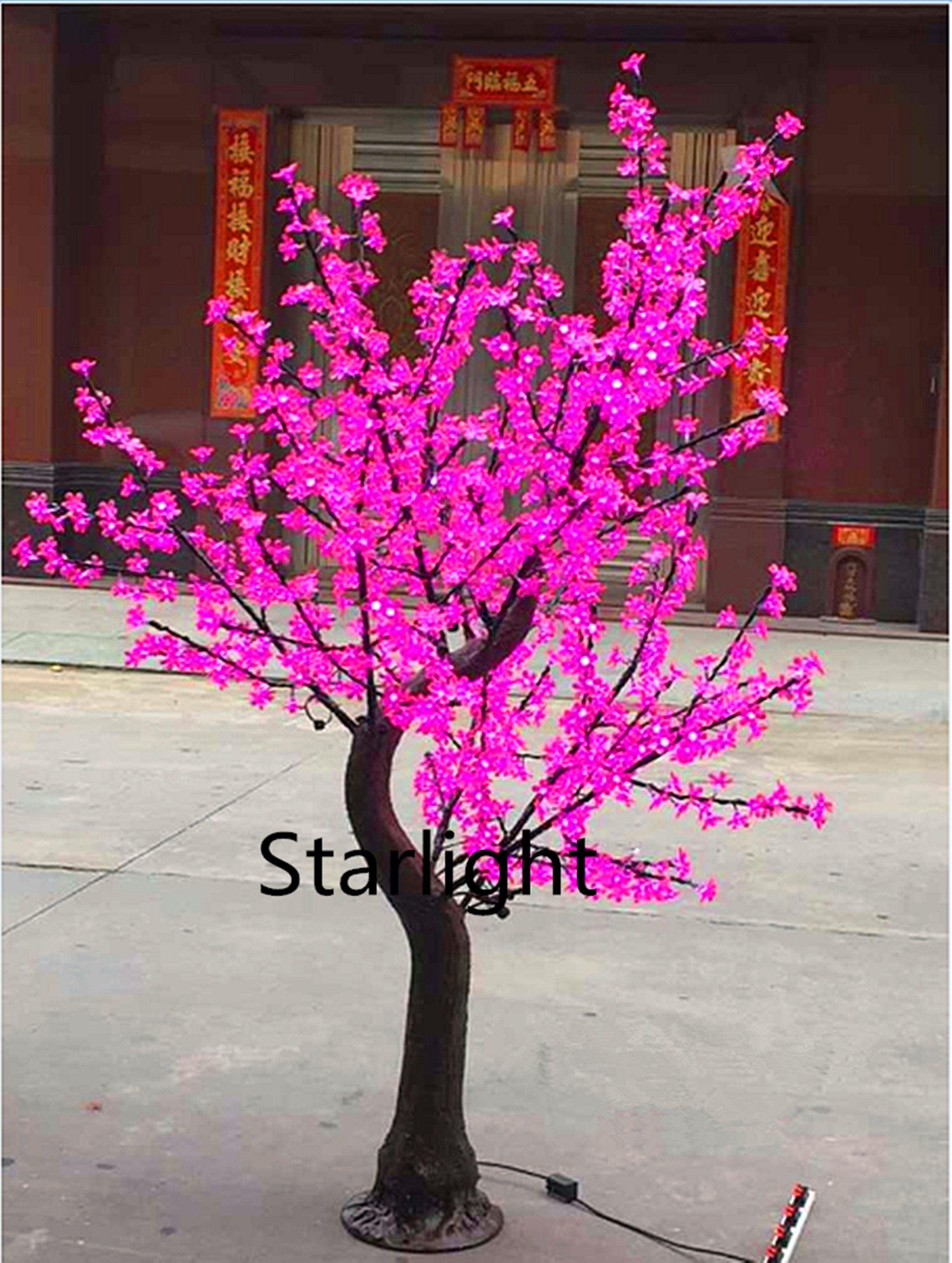 6ft 1 8m Handmade Led Simulation Cherry Blossom Tree Light Etsy In 2021 Cherry Blossom Tree Blossom Trees Artificial Cherry Blossom Tree