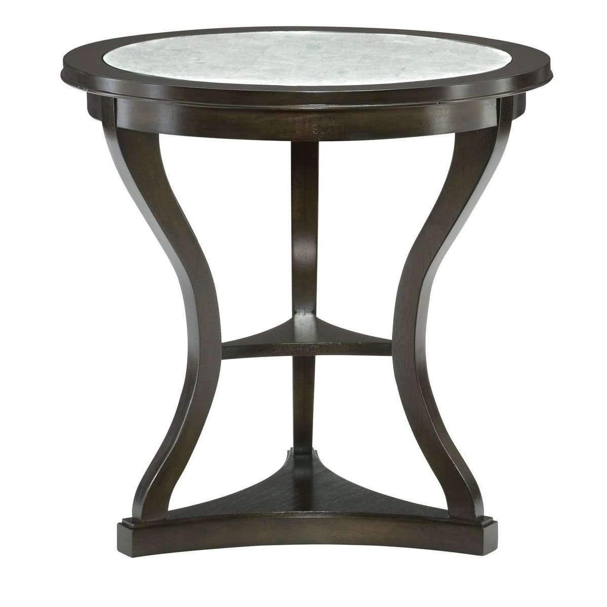 Constantinos Round End Table In 2020 Sutton House Mirrored Furniture End Tables