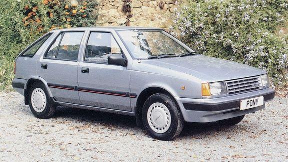 1989 Hyundai Pony Classy Cars Hyundai Cars Hyundai