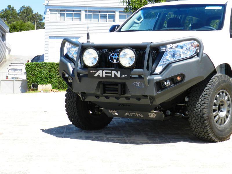 Bull bar Toyota Prado 150 - fog lights included | Fofoo