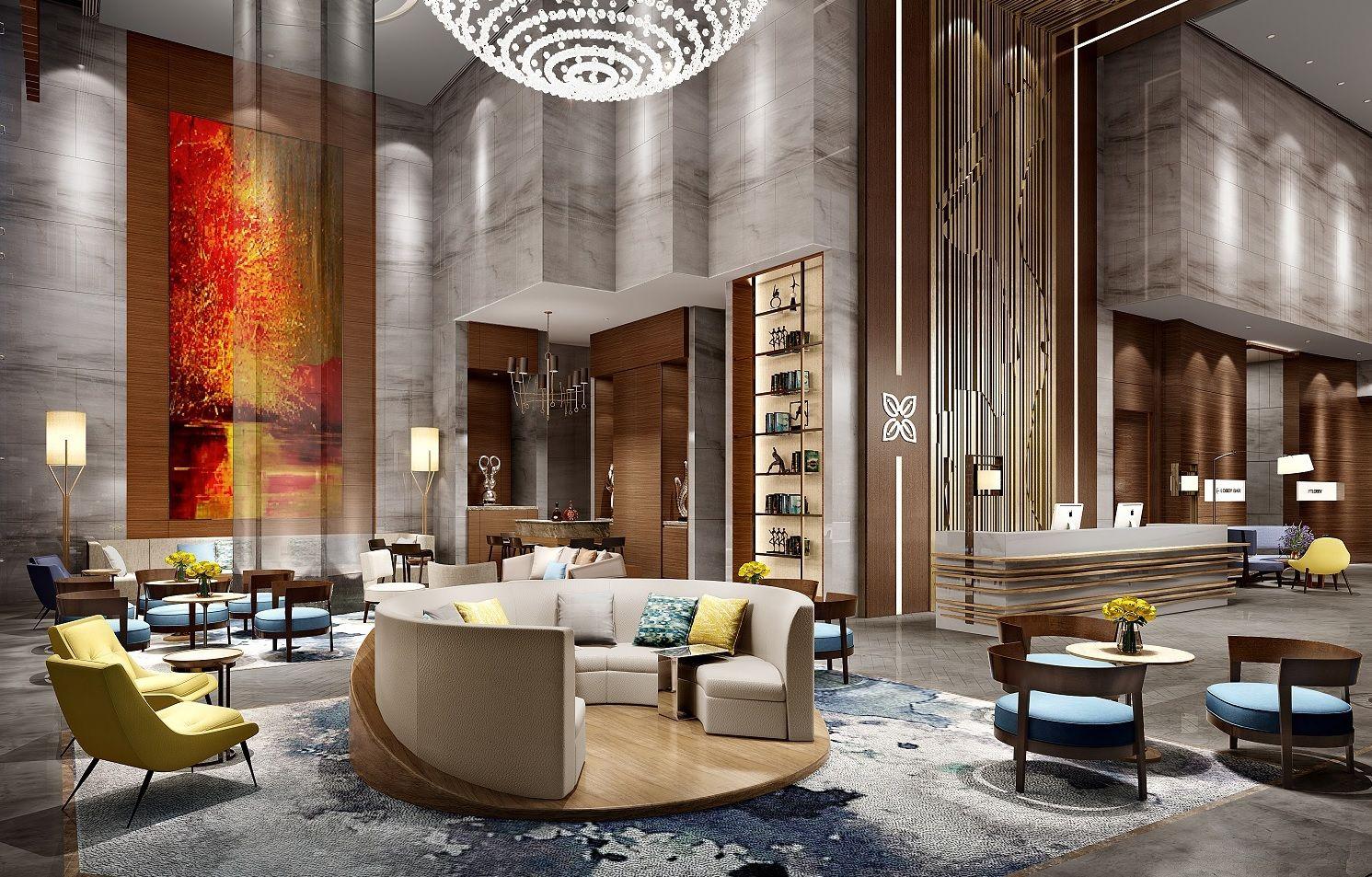 Hilton Garden Inn - Hong Kong | Lounge/Lobby | Pinterest | Office ...