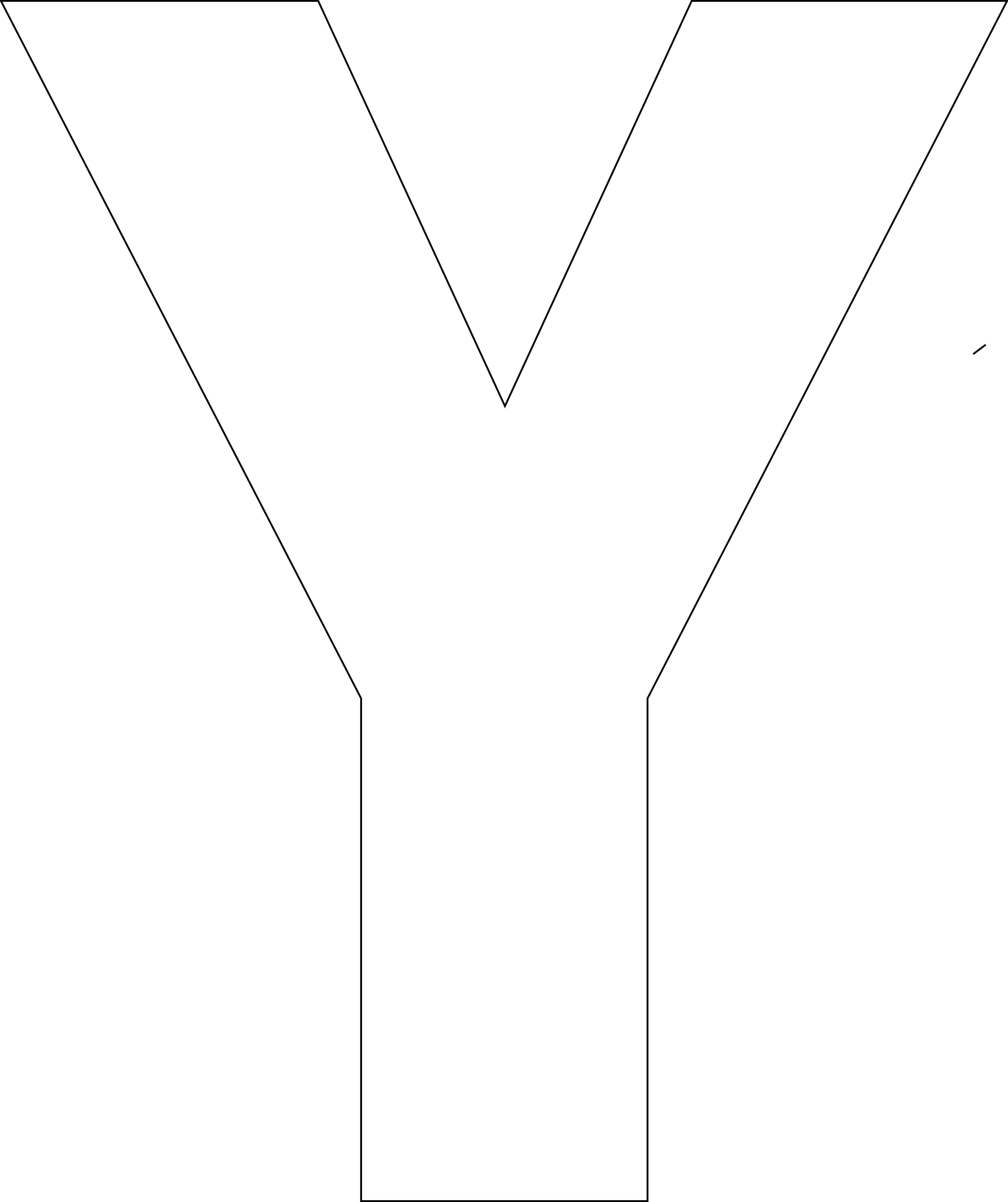 Charming Free Printable Upper Case Alphabet Template