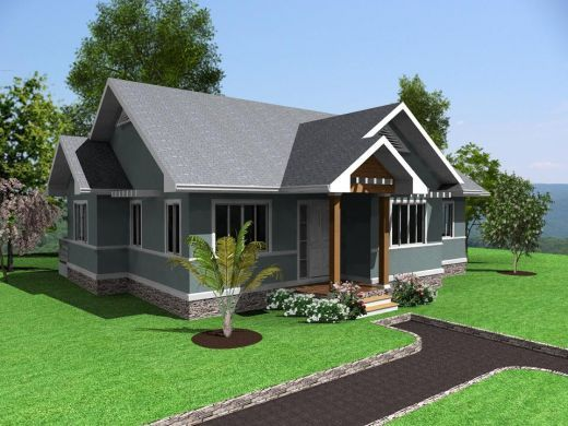 Simple Modern Homes And Plans Future House Village House