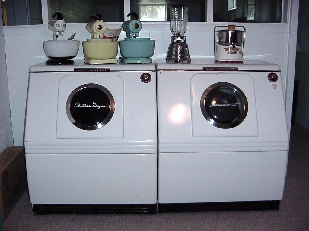 1949 westinghouse washer and dryer and very cool small appliances outdoor kitchen outdoor on outdoor kitchen vintage id=88345