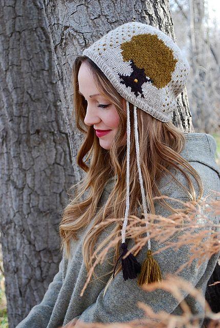 enchanted tree hat by tiny owl knits