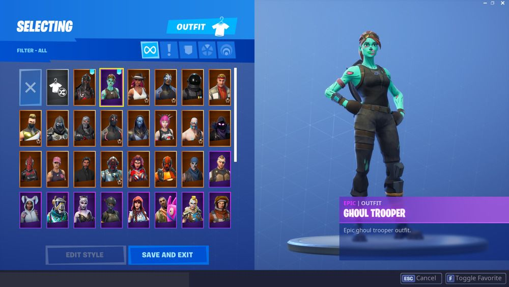 Fortnite Account Ghoul Trooper Video Games Consoles Video Games Ebay Ghoul Trooper Fortnite Epic Games Fortnite