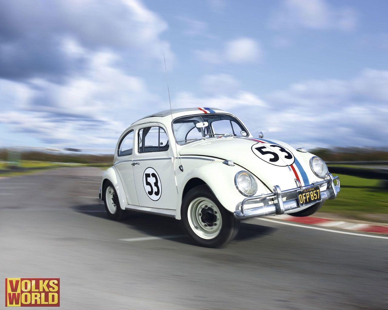 herbie the car | Minha antena: Wallpapers | Classic Volkswagen ...