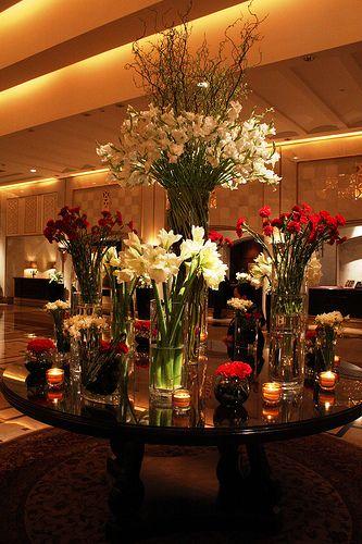 Lobby Flower Arrangement Ritz Carlton Doha Hotel Flowers Hotel Flower Arrangements Floral Arrangements