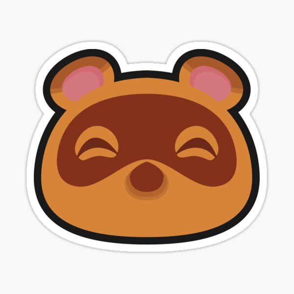 Tom Nook Animal Crossing Sticker By Purplepixel In 2020 Animal Crossing Tom Nook Animal Crossing Animal Crossing Characters