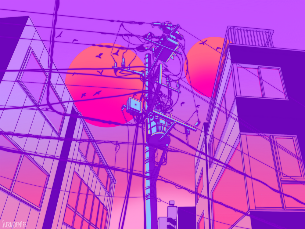 Aesthetic Anime Backgrounds