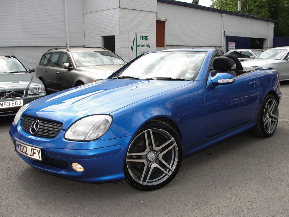 2002 Mercedes Benz Slk230 Kompressor Convertible If Only I Had No