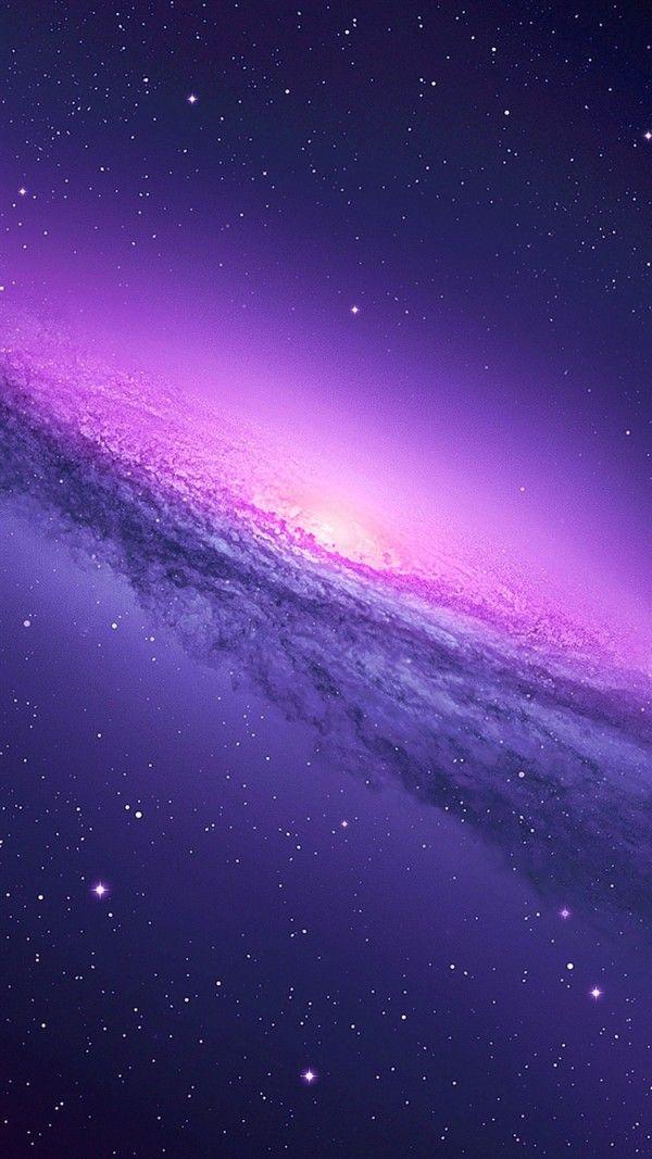 Purple Galaxy Iphone 6 Wallpaper Galaxy Phone Wallpaper