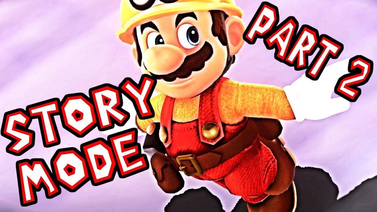 Lets play super mario maker 2 story mode part 2 mario