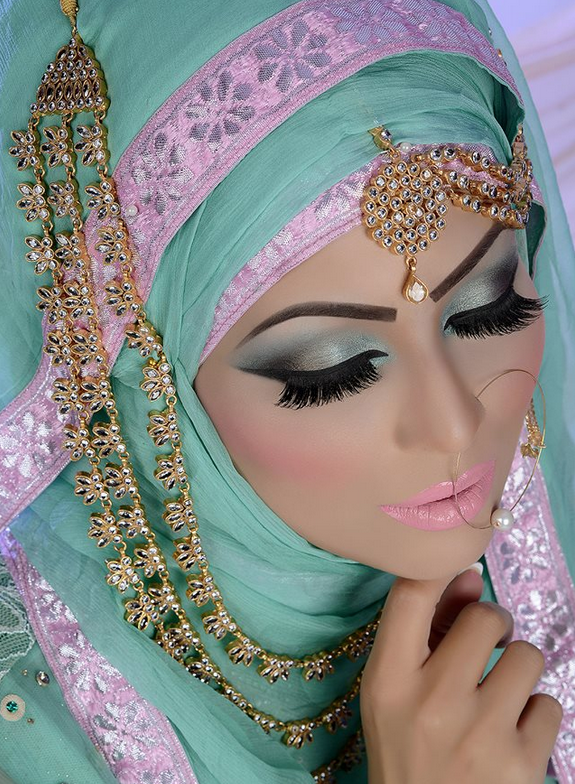 Beautiful Modest Photo Indian Bridal Makeup Pakistani Bridal