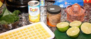 GrapeSugar: Pineapple Sage Iced Tea
