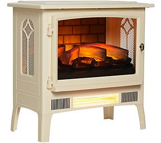 Duraflame Infragen Stove Heater with 3D Flame Effect — QVC