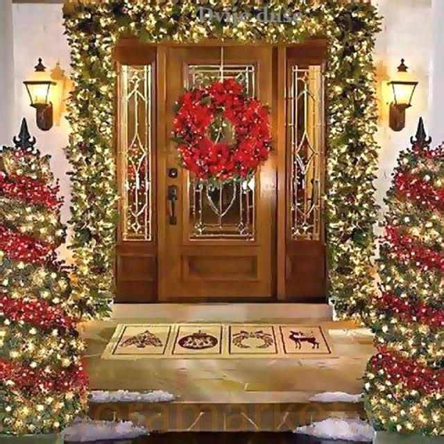 beautiful christmas door decorations door decorations for 9 beautiful front door christmas decorations - Beautiful Christmas Door Decorations