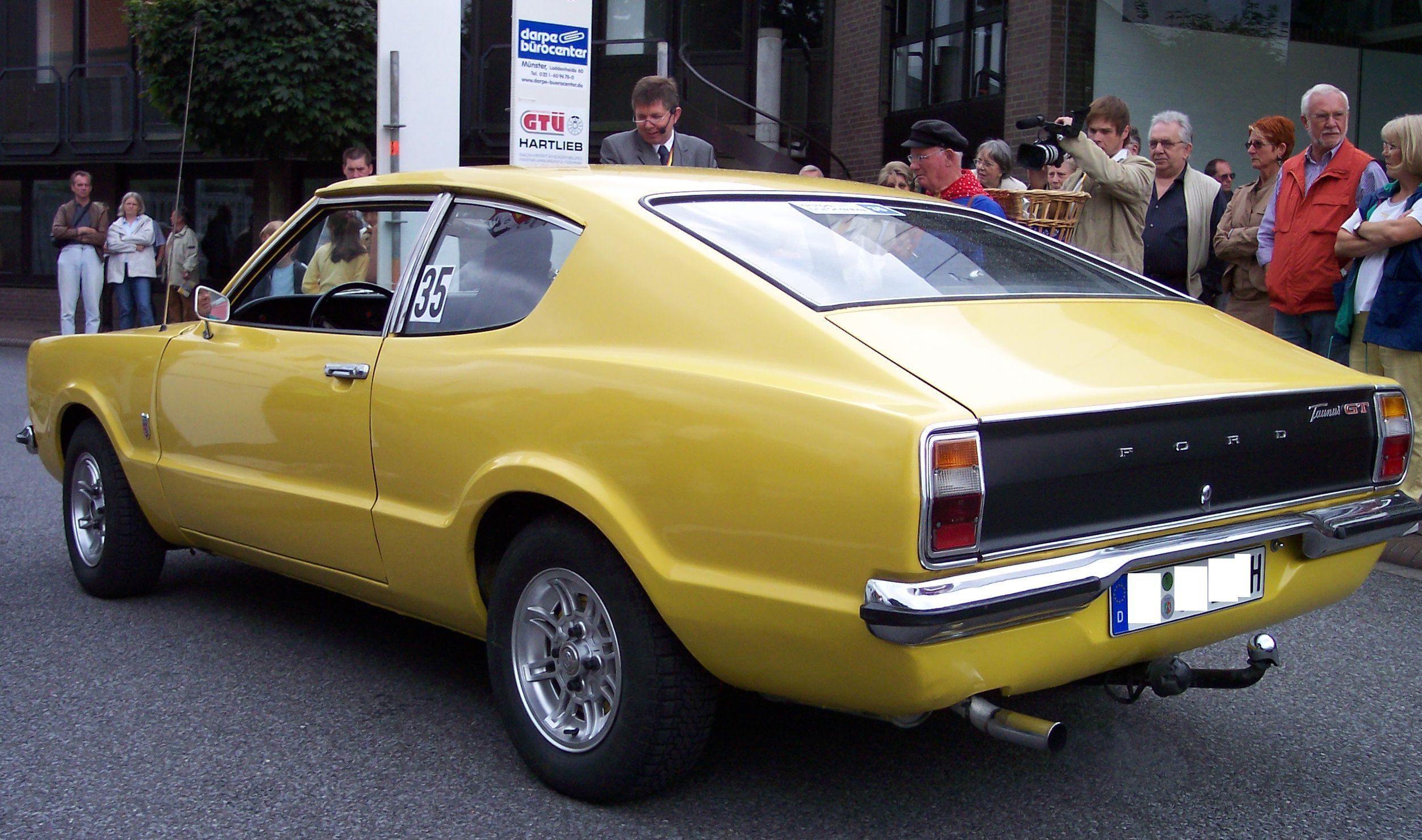 1972 Ford Taunus Coupe 2 0 Side Rear Ford Taunus