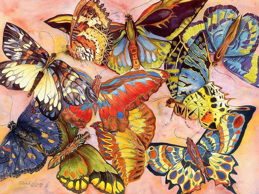 Butterfly fantasy barbel 900 672 art for Barbel art