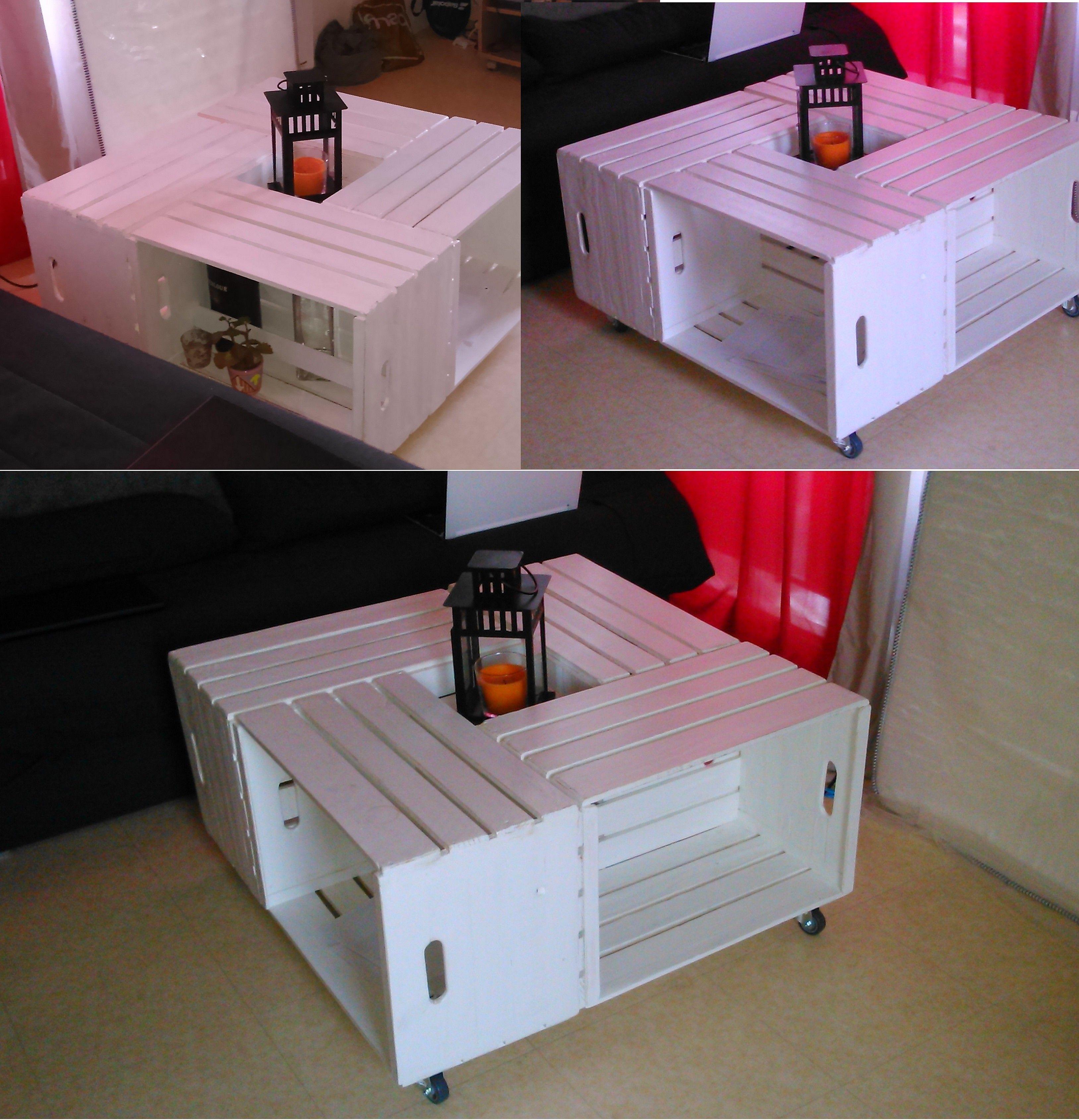 Table Basse Avec Caisse A Vin table basse trop coolpapa coulonnier :) fabriquée avec